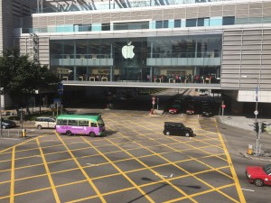 Crowded Apple Store Hong Kong 1-1-15