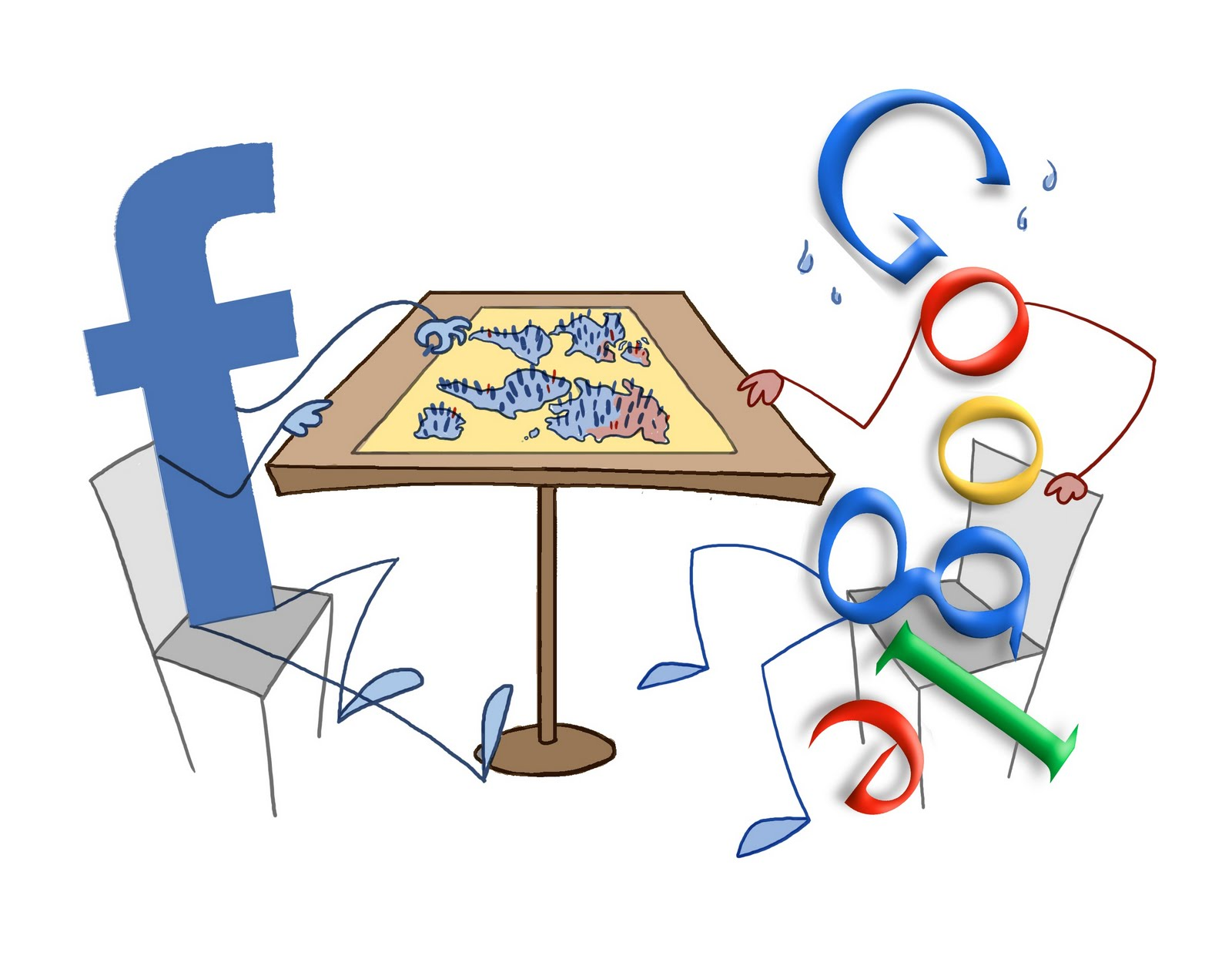 Why You Want to Own Facebook Rather Than Google