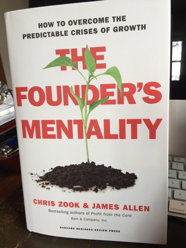 "Recommended For Your Summer Reading ""The Founder's Mentality"""