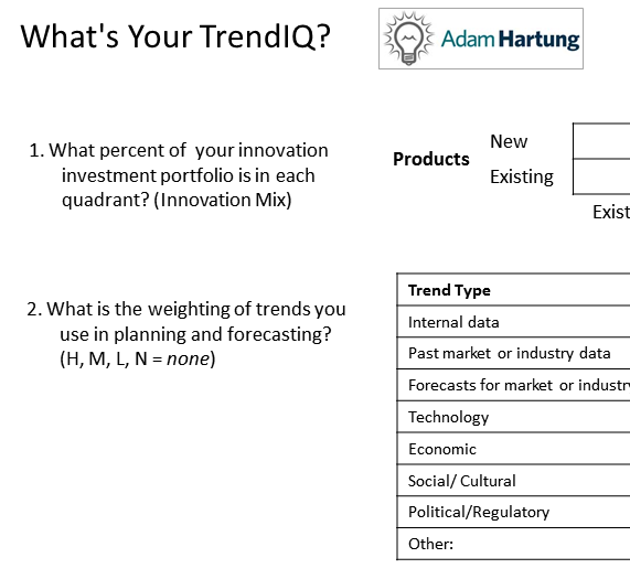 TrendIQ Assessment