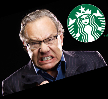 Lewis Black and Starbucks, end of universe rant