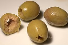eaten green olives