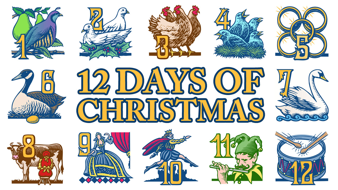 Twelve Days of Christmas for Investors