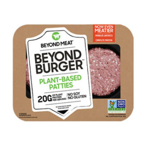 BEYOND MEAT plant based patties