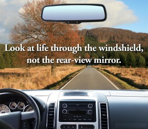 Windshield v Rear View Mirror