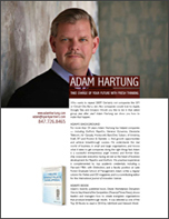 Adam Hartung information flyer