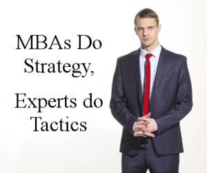 strategy is for MBAs