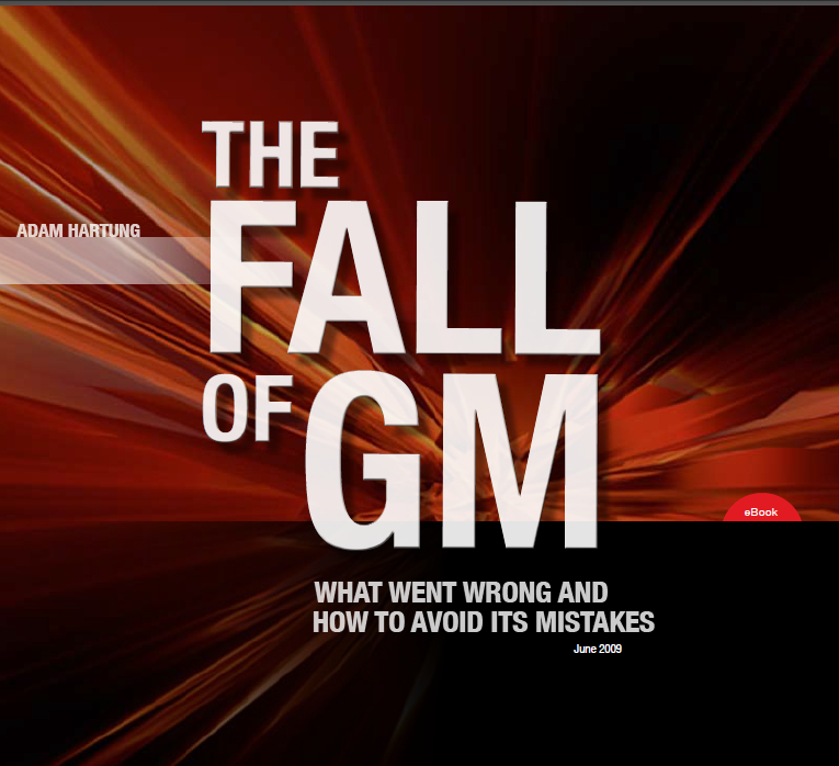 Fall of GM by Adam Hartung ebook