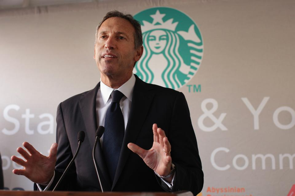howard shultz, starbucks