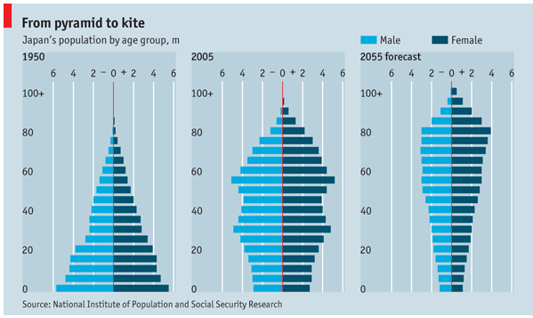 Japan demographic trends, National Institute of Population and Social Security Research