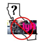 will lyft and uber leave california?